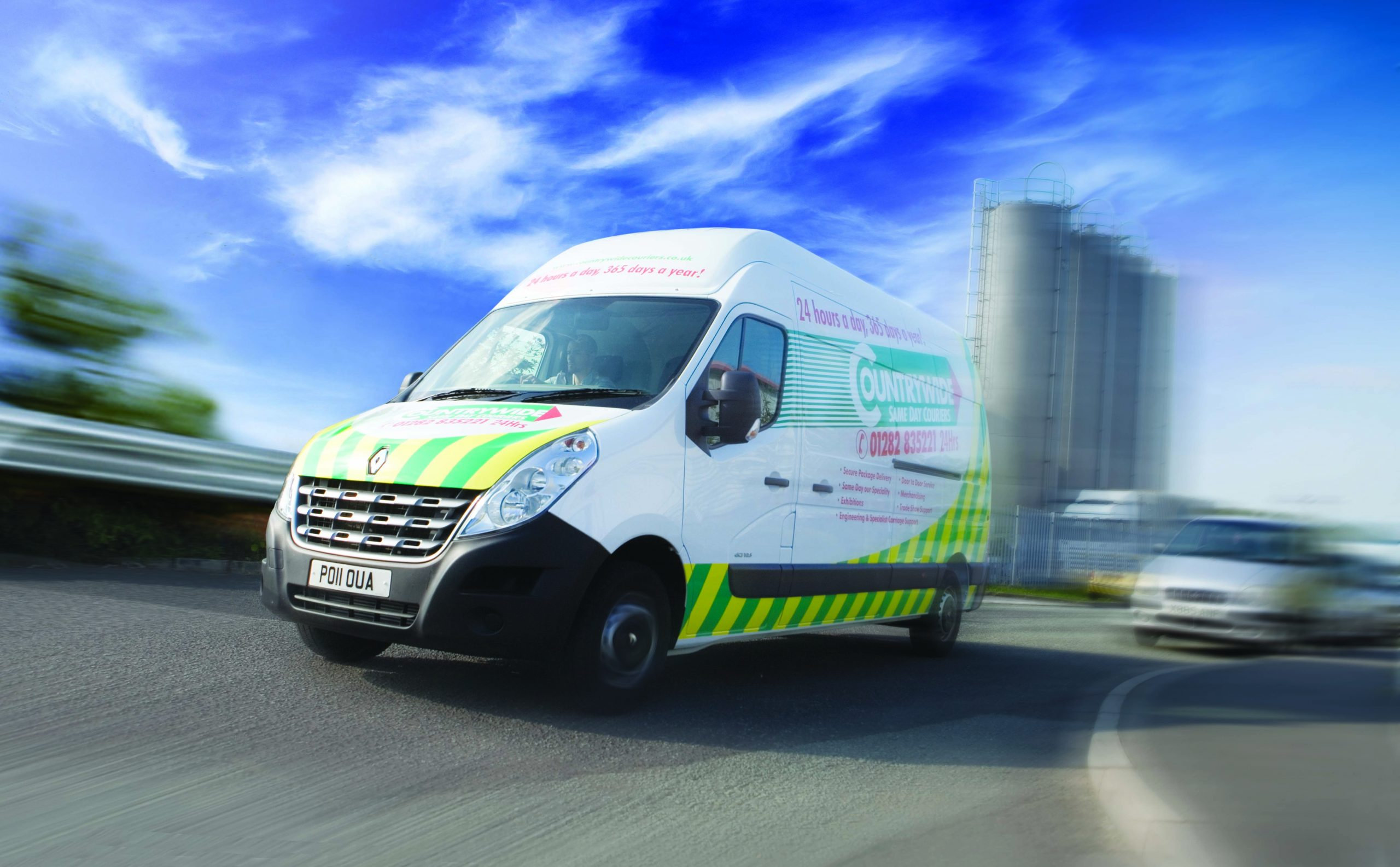 Countrywide Couriers Van